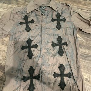 Roar mens Button down